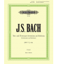 Bach Inventions and Sinfonias BWV 772-801 paradisesound strumenti musicali on line