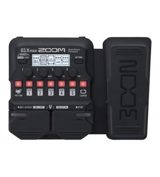 ZOOM G1X FOUR MULTIEFFETTO paradisesound strumenti musicali on line