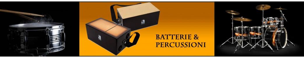 Batterie acustiche/elettriche, percussioni | Paradise Sound